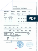 TF Test Reports