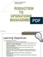 OperationMgt Introduction `