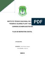 Plan de Marketing Digital Ali y Rodriguez
