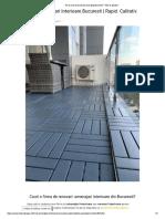 Cauti o Firma de Renovari -Amenajari Interioare Din Bucuresti