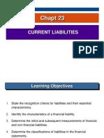 Chapt 23 Current Liabilities