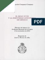 Identidad Linguistica de México