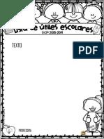 2 Listas de Material Primaria Archivo Editable - Copy