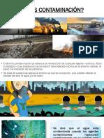 Contaminacion Del Agua. Exposicion
