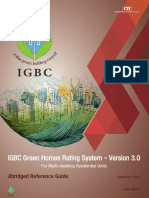 IGBC Green Homes Rating System Ver 3.0