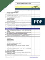 ISO 14001 Checklist