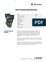 PanelView Standard Terminal Specifications