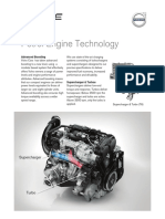 Volvo Drive e Petrol Engines