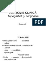 Anatomie Clinica. Torace
