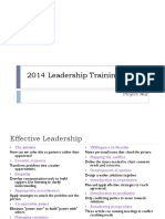 Effective-leadership - And Conflict Resolution