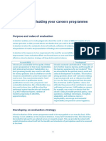 Cegnet Guide to Evaluating Your Careers Programme