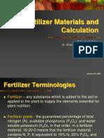 FERTILIZER Materials & Computation