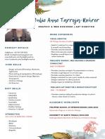 Julie Anne Tarroja-Rohrer   GRAPHIC DESIGNER