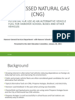 CNG Bus COnversion Proposal