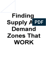 Finding Supply and Demand Zones That Work