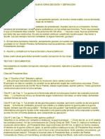 Asumir y Combatir Por La Nueva Gran Decisión y Definición Pcp Sl