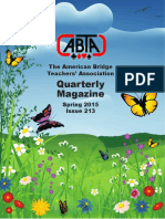 ABTA Quarterly Spring 2015