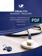 Health Market Inquiry