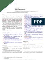 ASTM D6373 Standard Specification for Performance Graded Asphalt Binder