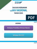 sosialisasi un 2019 - 2020