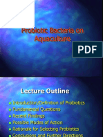 Lecture 7 Probiotic Bacteria for Aquaculture
