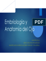 Embriologia y Anatomia Del Ojo
