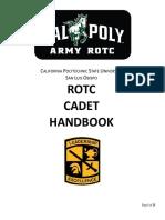 Cal Poly Cadet Handbook