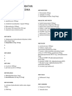 daftar obat klinik