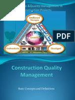 75291119 Construction Quality Management