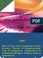 Entrepreneurship Ppts