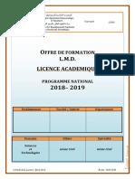 Licence Génie Civil VFF