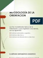 Metodología de La Orientacion