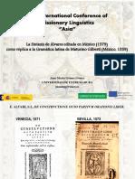 Sintaxis de Álvares (México 1579)