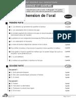C1 Comp Orale - Michel Serres CORRECTION