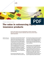 The Value in Outsourcing Legacy Insurance Products