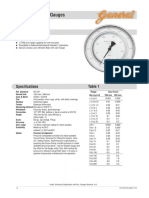 pressure gauge reference document