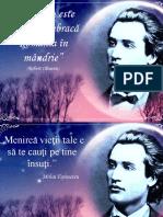 prezentare eminescu