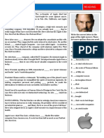 Steve Jobs Fun Activities Games Grammar Drills Reading