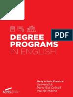 UPEC Degree Programs 2018 2019 Web