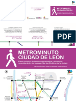 Plano del Metro Minuto