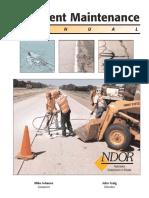 pavement maintenance (Pavement Maintenance - Nebraska Department of Roads).pdf
