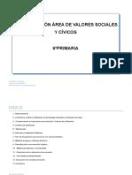 Valores Sociales y Cívicos 6º..