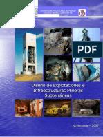 Diseno de Explotaciones e Infraestructura Mineras Subterraneas Para m in Subt II (1)