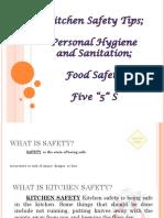 Basic Kitchen Safety Tips