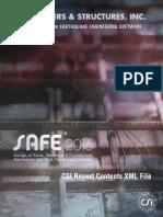 Report Contents XML File