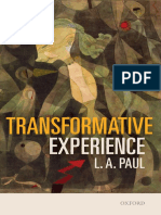 Paul, Laurie Ann - Transformative Experience
