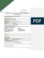 Formulario de Recolección de Información AF