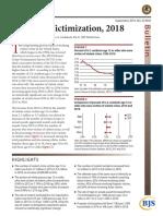 Etats-Unis//Rapport septembre 2019/criminal Victimization, 2018/