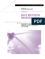ACIL RET Review Modelling - Full Report