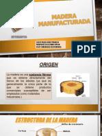 Madera Manufacturada Grupo 8